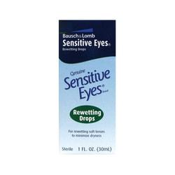 Bausch & Lomb Sensitive Eyes Rewetting Drops
