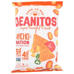 BeanitosWhite Bean Chips - Nacho Cheese