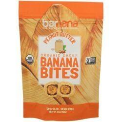 BarnanaOrganic Peanut Butter Chewy Banana Bites