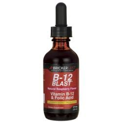 Bricker LabsB-12 Blast - Natural Raspberry Flavor