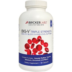 Bricker LabsBig-V Triple Strength Vanadyl Sulfate