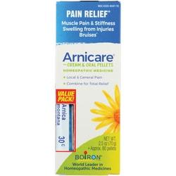 Boiron Arnica Cream & Blue Tube Value Pack