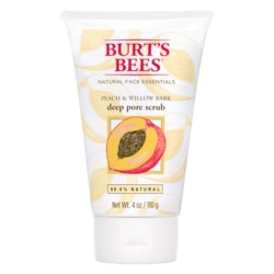 Burt's BeesPeach & Willowbark Deep Pore Scrub