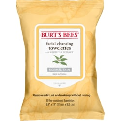 Burt's BeesFacial Cleansing Towelettes with White Tea Extract