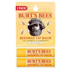 Burt's Bees Beeswax Lip Balm 2 Pack