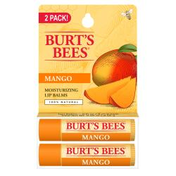 Burt's BeesMoisturizing Lip Balms 2 Pack - Mango