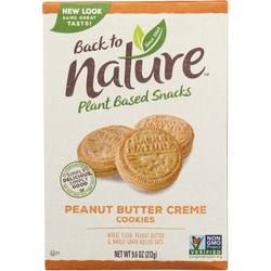 Back To NaturePeanut Butter Creme Cookies