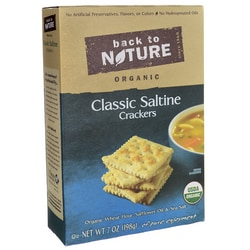 Back To NatureOrganic Classic Saltine Crackers