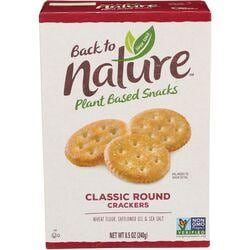 Back To NatureClassic Round Crackers