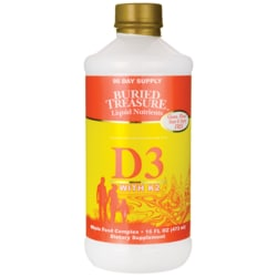 Buried Treasure Liquid D3 with K2