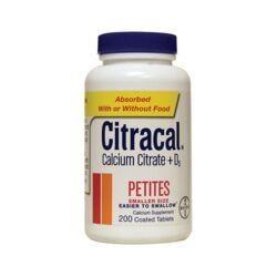 CitracalCalcium Citrate + D3 Petites