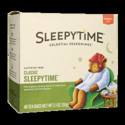 Celestial Seasonings Herbal Tea Sleepytime Caffeine Free