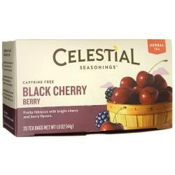 Celestial SeasoningsBlack Cherry Berry Herbal Tea - Caffeine Free