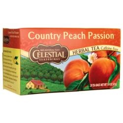 Celestial SeasoningsHerbal Tea Country Peach Passion - Caffeine Free