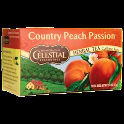 Celestial Seasonings Herbal Tea Country Peach Passion Caffeine Free