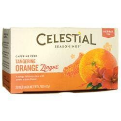 Celestial SeasoningsTangerine Orange Zinger Herbal Tea - Caffeine Free