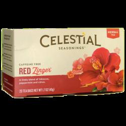 Celestial Seasonings Herbal Tea Red Zinger Caffeine Free