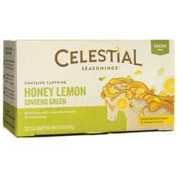 Celestial SeasoningsHoney Lemon Ginseng Green Green Tea
