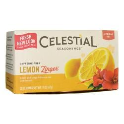 Celestial SeasoningsHerbal Tea Lemon Zinger - Caffeine Free