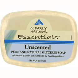 Clearly NaturalGlycerine Bar Soap Unscented