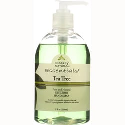 Clearly NaturalGlycerine Hand Soap Tea Tree