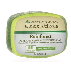 Clearly NaturalGlycerine Bar Soap Rainforest