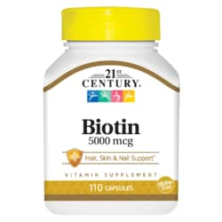 21st CenturyMaximum Strength Biotin