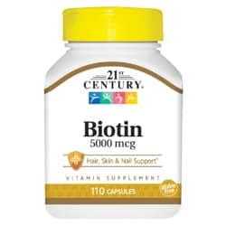 21st CenturyMaximum Strength Biotin