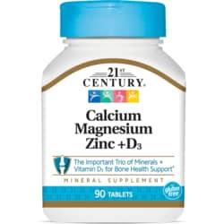 21st CenturyCal Mag Zinc + D3