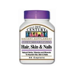 21st CenturyAdvanced Formula Hair, Skin & Nails