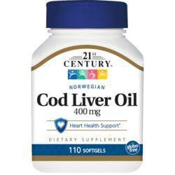 21st CenturyNorwegian Cod Liver Oil