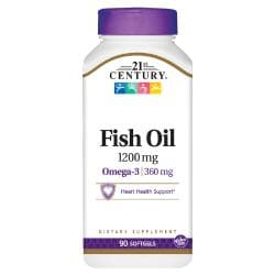 21st CenturyMaximum Strength Omega-3 Fish Oil