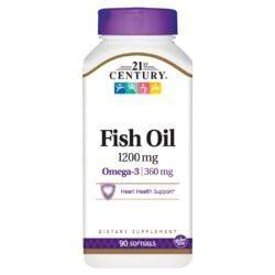 21st CenturyMaximum Strength Omega-3 Fish Oil