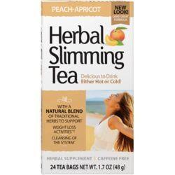 21st CenturyHerbal Slimming Tea Caffeine Free - Peach-Apricot