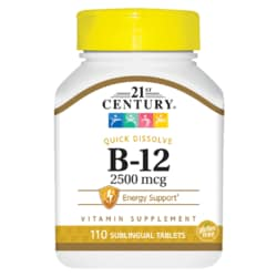 21st Century Sublingual Vitamin B-12