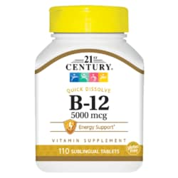 21st CenturyHigh Potency Sublingual Vitamin B-12