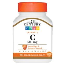21st Century Chewable Vitamin C 500