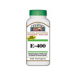 21st Century Vitamin E-400
