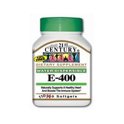 21st Century Water Dispersible Vitamin E-400