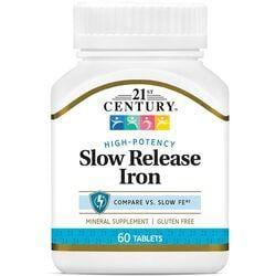 21st CenturySlow Release Iron