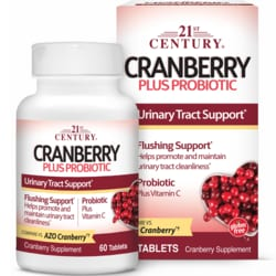 21st CenturyCranberry Plus Probiotic