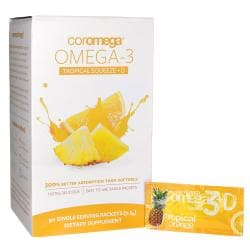 CoromegaOmega-3 Tropical Squeeze + D