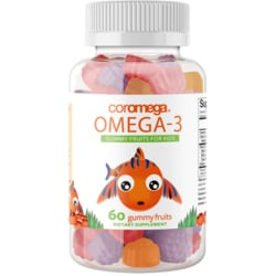CoromegaOmega3 Gummy Fruits for Kids - High DHA