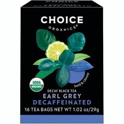 Choice Organic TeasDecaffeinated Earl Grey Tea