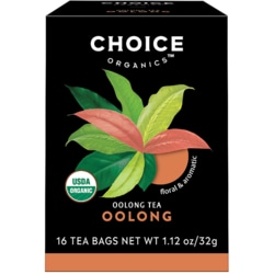 Choice Organic TeasOolong Tea