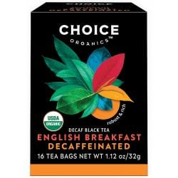 Choice Organic TeasOrganic Decaffeinated English Breakfast Tea