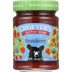 Just Fruit Spread Organic Strawberry