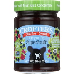 Crofter'sJust Fruit Spread Organic SuperFruit