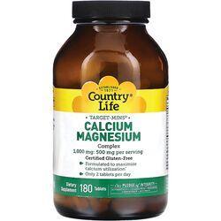 Country LifeTarget-Mins Calcium-Magnesium Complex