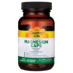 Country LifeTarget-Mins Magnesium Caps with Silica